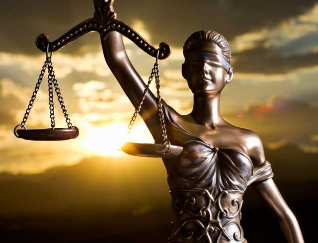 Themis, the Greek god of justice